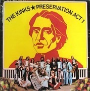 LP - The Kinks - Preservation Act 1 - Hollywood Pressing
