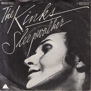 7inch Vinyl Single - The Kinks - Sleepwalker - German Promo