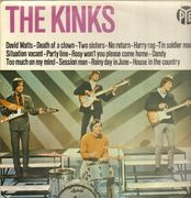 LP - The Kinks - The Kinks - original dutch pokora 5001