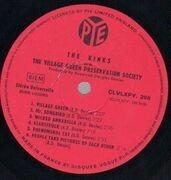 LP - The Kinks - The Kinks Are The Village Green Preservation Society - ALTERNATIVE ARTWORK FRANCE