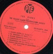 LP - The Kinks - The Kinks Are The Village Green Preservation Society - Original French