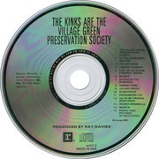 CD - The Kinks - The Kinks Are The Village Green Preservation Society