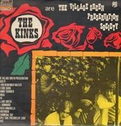 LP - The Kinks - The Kinks Are The Village Green Preservation Society - PYE FRANCE