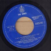 7inch Vinyl Single - The Kinks - Till The End Of The Day - Original Spanish EP