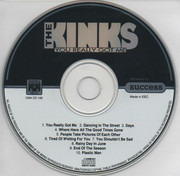 CD - The Kinks - You Really Got Me