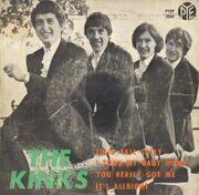 7inch Vinyl Single - The Kinks - You Really Got Me - Original Spanish EP