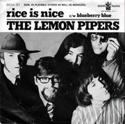 7inch Vinyl Single - The Lemon Pipers - Rice Is Nice / Blueberry Blue