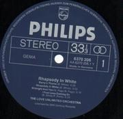 LP - The Love Unlimited Orchestra - Rhapsody In White