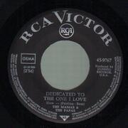 7inch Vinyl Single - The Mamas & The Papas - Dedicated To The One I Love - GERMAN ORIGINAL