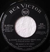 7inch Vinyl Single - The Mamas & The Papas - Callejuela / El Hombre De La Guitarra