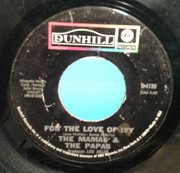 7inch Vinyl Single - The Mamas & The Papas - For The Love Of Ivy / Strange Young Girls