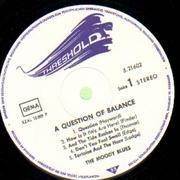 LP - The Moody Blues - A Question Of Balance