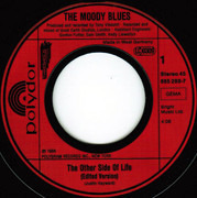 7inch Vinyl Single - The Moody Blues - The Other Side Of Life