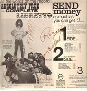 LP - The Mothers Of Invention - Absolutely Free - Signed by Zappa and members of the band