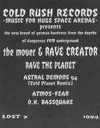 12inch Vinyl Single - The Mover & Rave Creator - Rave The Planet