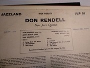 LP - The New Don Rendell Quintet - Roarin' - Mono