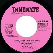 7inch Vinyl Single - The Nice - America (From 'West Side Story') 2nd Amendment