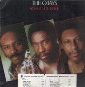 LP - The O'Jays - So Full Of Love - Promo