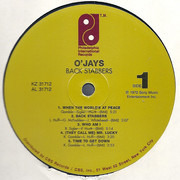 LP - The O'Jays - Back Stabbers - 180 Gram, Still Sealed