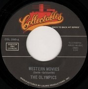 7inch Vinyl Single - The Olympics / Jody Reynolds - Western Movies / Endless Sleep