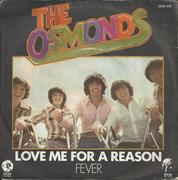 7inch Vinyl Single - The Osmonds - Love Me For A Reason