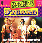 7inch Vinyl Single - The Pebbles - Figaro