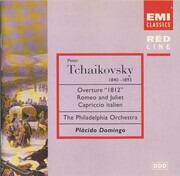 CD - Tchaikovsky (Domingo) - Overture '1812' / Romeo and Juliet / Capriccio italien