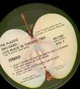 LP - The Plastic Ono Band - Live Peace In Toronto 1969 - still sealed + CALENDER