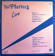 LP - The Platters - Only You Live
