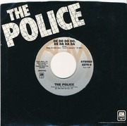 7inch Vinyl Single - The Police - De Do Do Do, De Da Da Da - Grey Labels