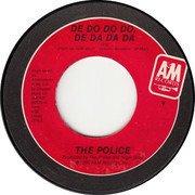 7inch Vinyl Single - The Police - De Do Do Do, De Da Da Da - Red Labels