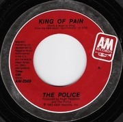 7inch Vinyl Single - The Police - King Of Pain