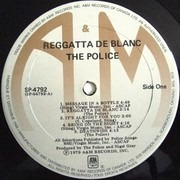 LP - The Police - Reggatta De Blanc - Canada