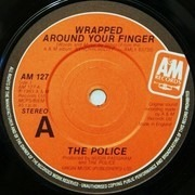 7'' - The Police - Wrapped Around Your Finger - Red Sleeve
