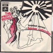 7inch Vinyl Single - The Pretty Things - Baron Saturday / Loneliest Person - Original French, Picture Sleeve