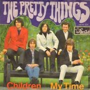 7inch Vinyl Single - The Pretty Things - Children / My Time