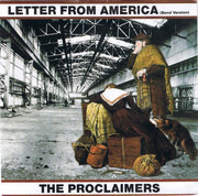 7inch Vinyl Single - The Proclaimers - Letter From America (Band Version)