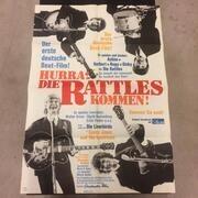 LP - The Rattles - Hurra die Rattles kommen! - + HUGE POSTER!