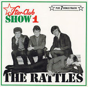 CD - The Rattles - Star-Club Show 1 - Bonus Tracks