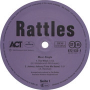 12inch Vinyl Single - The Rattles - The Witch