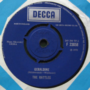 7inch Vinyl Single - The Rattles - The Witch