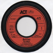7inch Vinyl Single - The Rattles - The Witch - red label