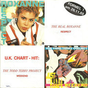 7inch Vinyl Single - The Real Roxanne / The Todd Terry Project - Respect / Weekend