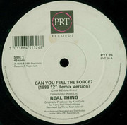 12inch Vinyl Single - The Real Thing - Can You Feel The Force?