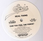 12inch Vinyl Single - The Real Thing - Can You Feel The Force? - White