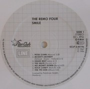 LP - The Remo Four - Smile! - White Vinyl, Ltd. Ed.