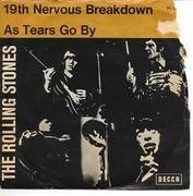 7'' - The Rolling Stones - 19th Nervous Breakdown / As Tears Go By