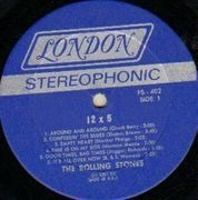 LP - The Rolling Stones - 12 x 5