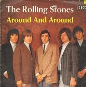 LP - The Rolling Stones - Around And Around - WINE RED LABELS; FLIMSY COVER