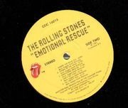 LP - The Rolling Stones - Emotional Rescue - Specialty Records Pressing, Poster